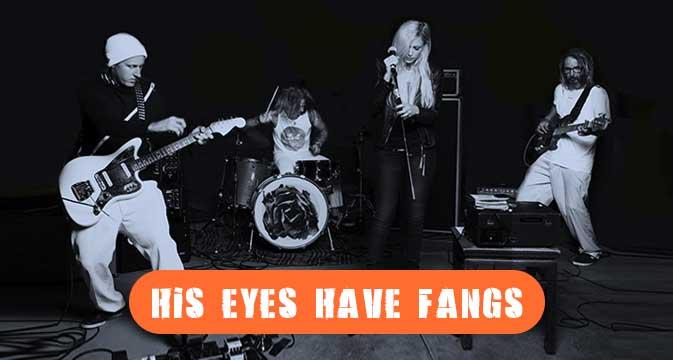 Tony Alva's His Eyes Have Fangs